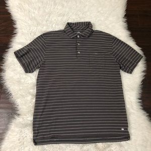 Peter Millar Mountain Side Collection Gray Striped